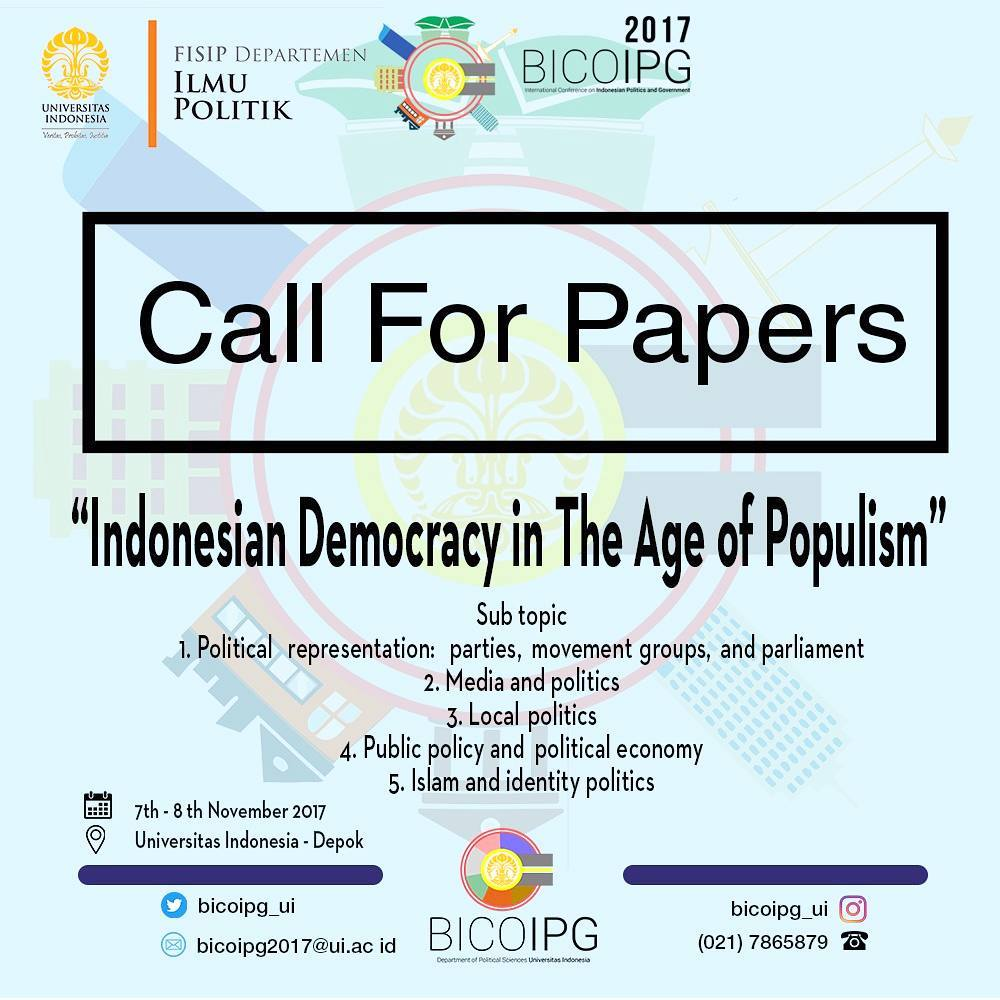 Call for Papers! [BICOIPG]